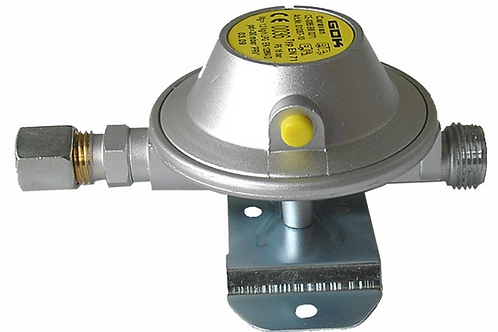 Redutor de gás 30 mb 1,2 kg/hora Saída 10 mm