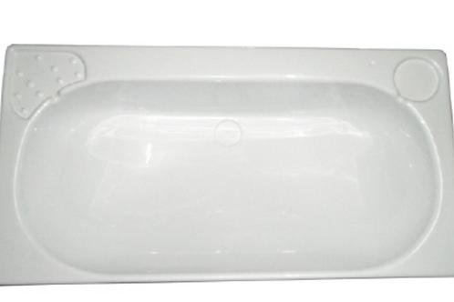 Lavatório rectangular branco