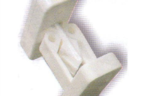 Fixador de porta branco
