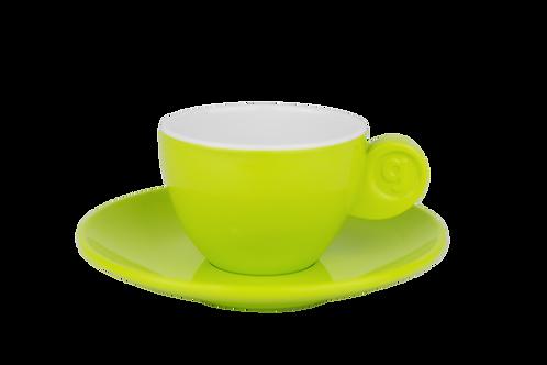 Chávena/Pires Café Expresso Verde/Branco