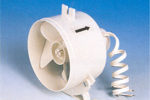 Ventilador extrator 12v 7 w 80 m3/h