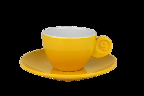 Chávena/Pires Café Expresso Amarela/Branca