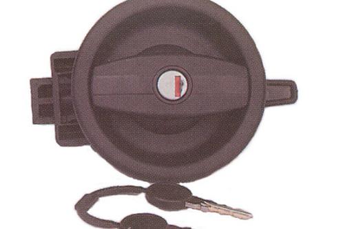 Fechadura plástica redonda