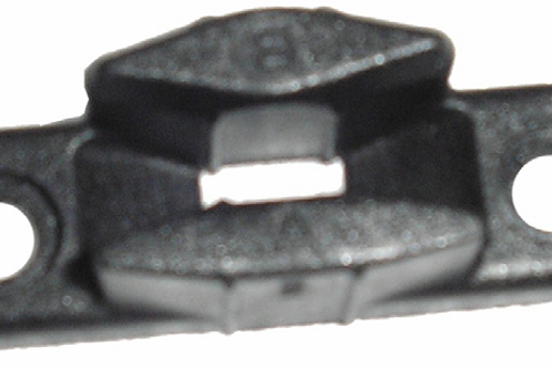 Base pequena para fecho / compasso polyplastic