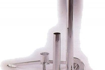 Pé de mesa em alumínio de 70 cm