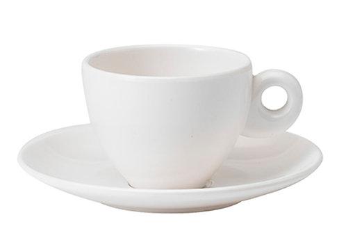 Chávena/Pires Café Expresso Branco-par
