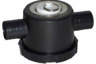 Válvula de entrada dupla com sifão 20mm