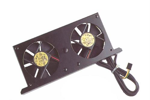 Ventilador duplo c/ termóstato e painel de comando