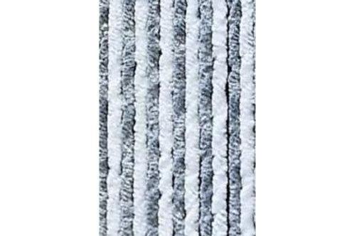 Cortinas de Pêlo cinza e branca para caravanas