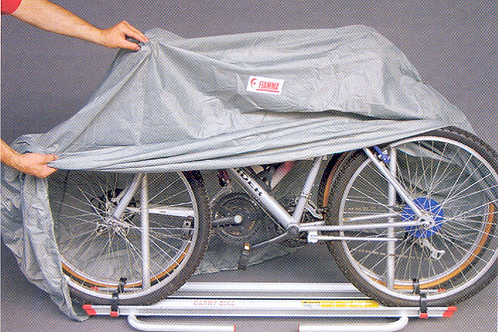 Cobertura para 2/3 bicicletas para suporte de bic.