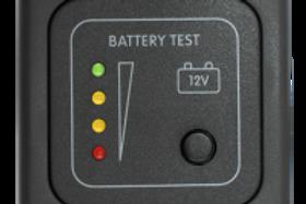 Painel de níveis de bateria