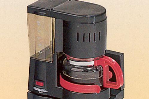 Máquina de café a 12 v com capacidade até 680 ml