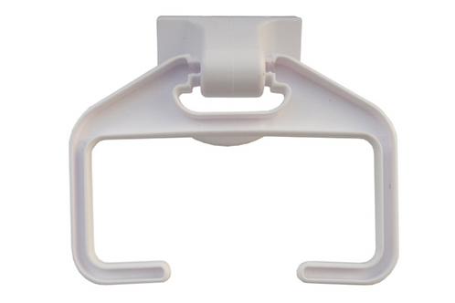 Suporte plástico para papel higiénico