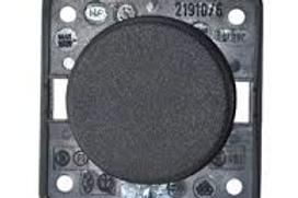 Interruptor Clássico simples preto Berker Integro Module Inserts
