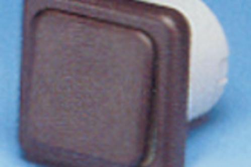 Interruptor castanho, 220 v sem caixa de protecção