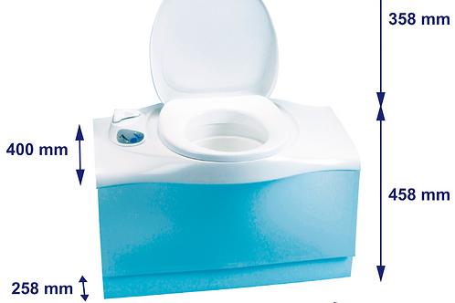 Sanita de cassete eléctrica  sem reservatório
