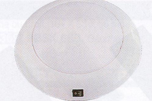 Aplique redondo tecto branco 12 v 16w