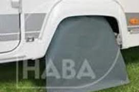 Cobertura para roda de caravana