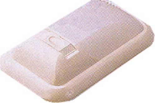 Aplique simples rectangular arredondado 12/ 21w