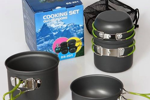 Complete set cooking