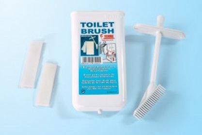 Escova de lavagem para sanita portátil