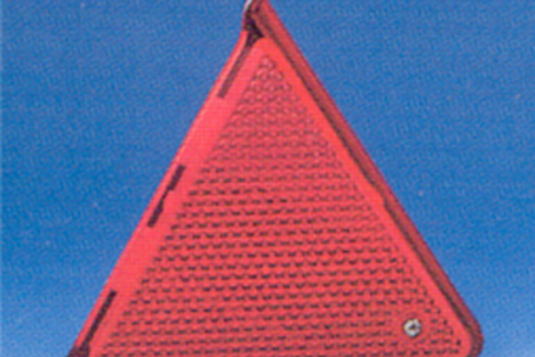 Reflector triangular