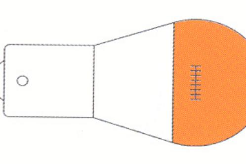 Lâmpada laranja para piscas 12 v 21 w