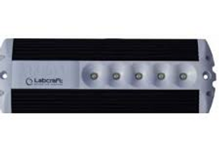 Aplique de Led Powerlux 10-32v 6W preto/Branco
