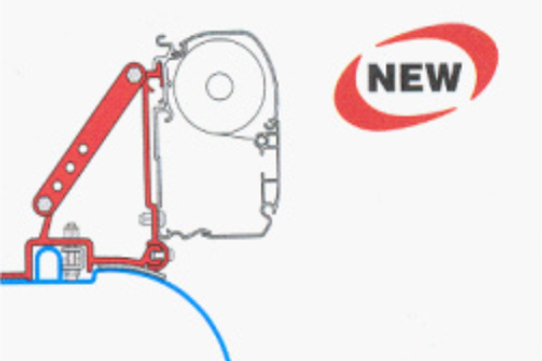 Kit instalação de toldos para Fiat/Peugeot/Citroen