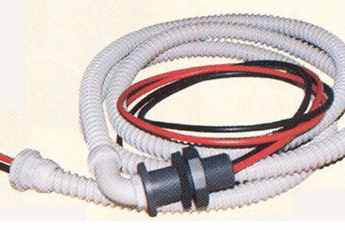 Passa fios com 2 mt de fios de 6mm