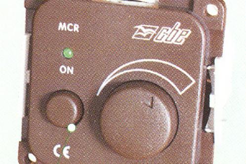 Interruptor potenciómetro para lâmpadas de halogén