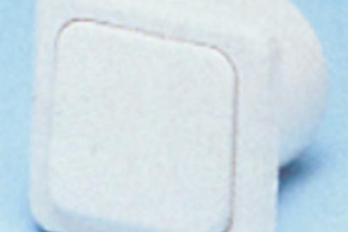 Interruptor branco, 220 v sem caixa de protecção.