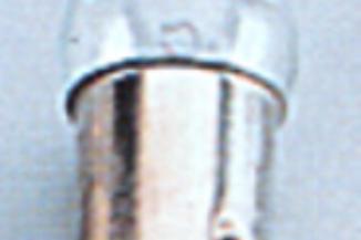 Lâmpada baioneta 12 v 5 w.