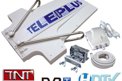 Antena Teleplus com amplificador