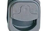 Fecho para porta de armário 45 mm cinza