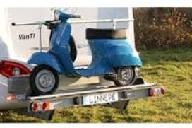 Suporte para motas em autocaravana modelo Findus da Linnepe