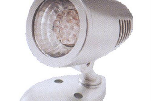 Aplique orientável cinza de 19 led com interruptor