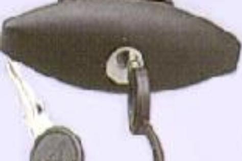 Fechadura de mala, sem canhão