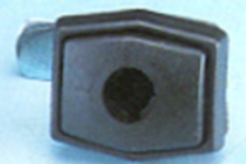 Fechadura de mala rectangular sem canhão