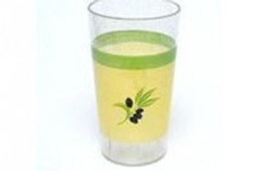 Copo olive  em policarbonato 30cl