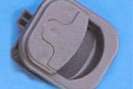 Fecho para porta de armário 45 mm castanho