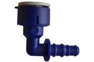 Ligador curvo com encaixe rapido 12mm/livre 10-12mm