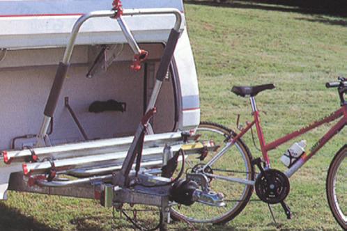 Suporte 2 bicicletas XL PRO para lança de caravana
