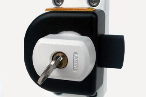 Fecho com chave para porta de cabine Ford Transit