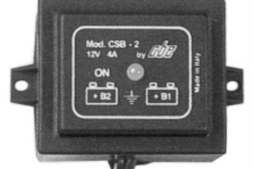 Apar. de ligação bateria do motor e auxiliar