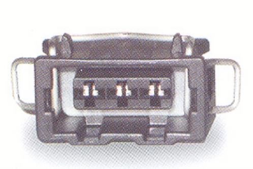 Ficha de ligação 3 fios para farolins...