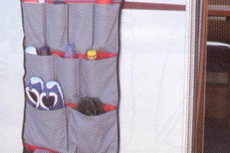 Pack organizer e sistema de fixação
