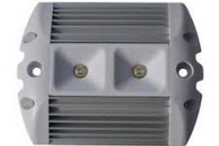 Aplique Led Superlux 10-32V 5W Cinza/aluminio