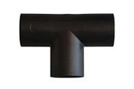 """Ligador """"T"""" 28 mm preto"""