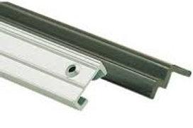 Perfil dobradiça mesa 66cm plástico/ aluminio